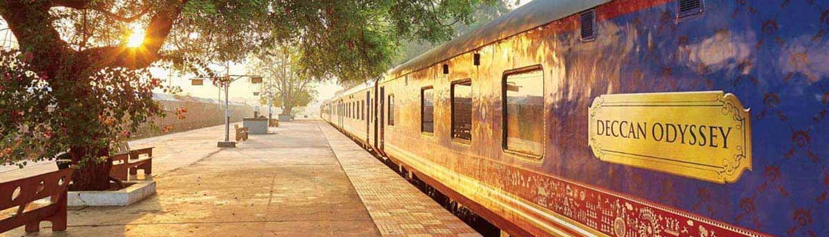 Deccan Odyssey Luxury Train India :: New year Special Offer