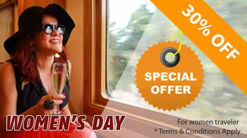 Deccan Odyssey Luxury Train :: Womens Day Offer