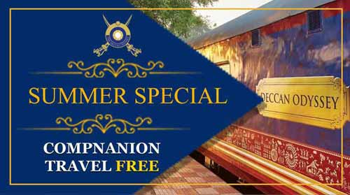 Deccan Odyssey Luxury Train :: Summer Bonanza Offer