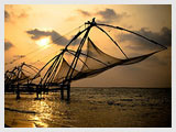 Chinese Fishing Net, Cochin Beach